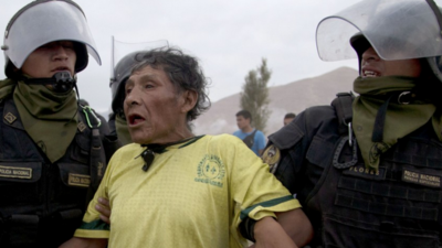 Video Shows Frenzied Clash at Protest Over Plan to Build Massive Copper Mine in Peru