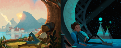 Tim Schafer and Elijah Wood Discuss the Making of 'Broken Age'