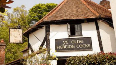 Animal Rights Activists Aren't Happy with a Pub Called 'Ye Olde Fighting Cocks'