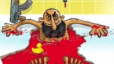 Irán lanza un concurso de caricaturas anti-Estado Islámico