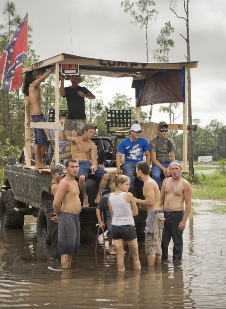 Photos of Swamp Buggy Racing from Florida's 'Mile O Mud'