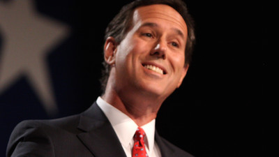 Rick Santorum Begins His Slow Slide into Frothy Irrelevance