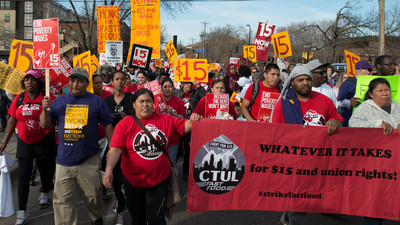 Why Do LA Unions Want an Exemption to the New $15 Minimum Wage?