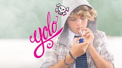 YOLO ist kein Wort, das Jugendliche vom Rauchen abhält