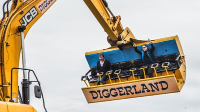 I Went to Diggerland: Britain's Magical Theme Park Dedicated to Excavators