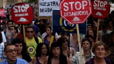 El drama de los 'pluridesahuciados' en España