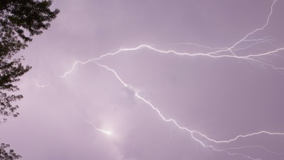 So fühlt es sich an, vom Blitz getroffen zu werden