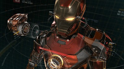 Der Iron-Man-Anzug in Marvels 'Avengers: Age of Ultron'