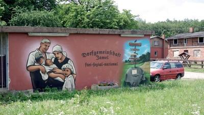 Op verkenning in een Duits nazidorp