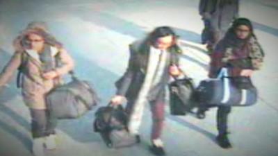 As três estudantes de Londres que foram à Síria entraram em contacto com as respectivas famílias