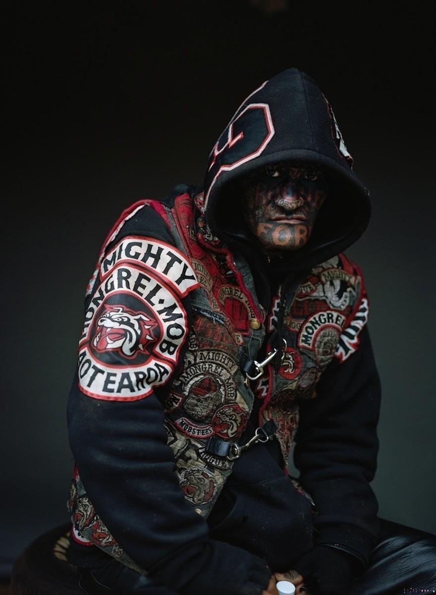 Fotos de los miembros de la pandilla más peligrosa de Nueva Zelanda