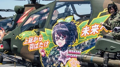 Japonská armáda sa stává ofenzívne roztomilou
