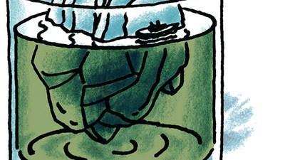 Endlich: norwegische Gletschereiswürfel für deine Drinks