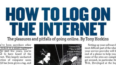 'FHM' Wrote a Guide to the Internet 20 Years Ago and It's Hilarious