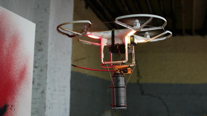 KATSU Shows You How to Make a Graffiti Drone