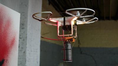 KATSU Shows You How to Make a Graffiti Drone