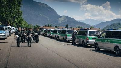 Zwei Tage im deutschen Polizeistaat: Der G7 aus Sicht der Anwohner