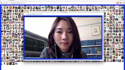 Diese interaktive Installation zeigt dir jedes einzelne Selfie auf Instagram