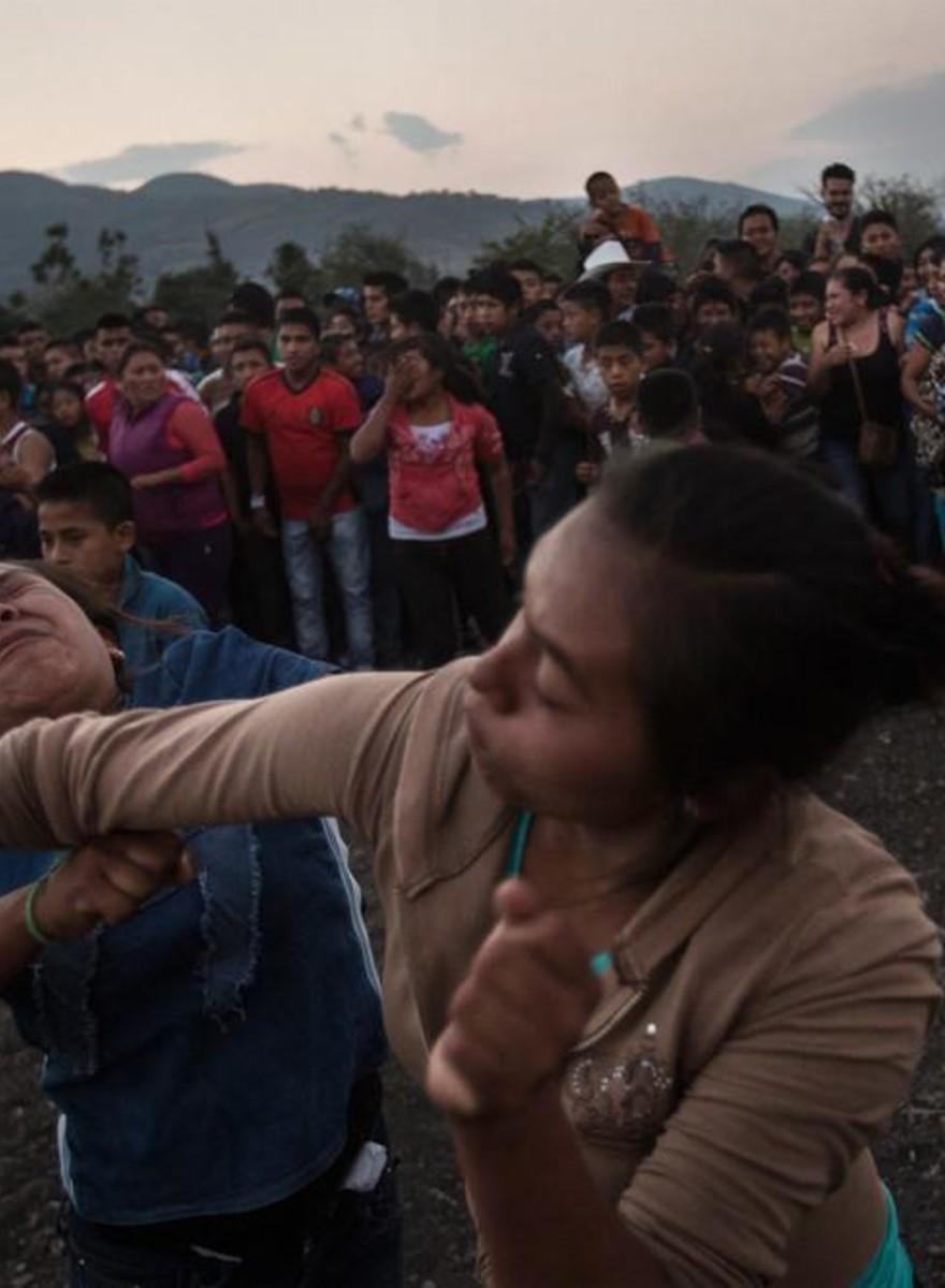 Il carnevale messicano delle botte