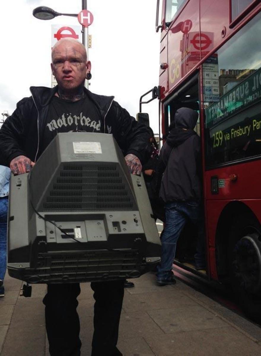 Las increíbles fotos de Alex Sturrock nos muestran el Londres que no se suele ver