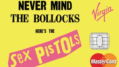 Show the Check-Out Girl How Punk You Are with This Sex Pistols-Themed Credit Card
