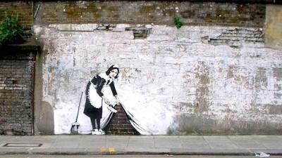 Banksy mi-a cumpărat casa cu tot cu oi