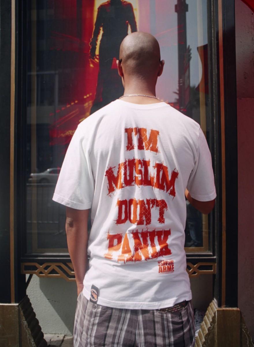 """""""No te asustes, soy musulmán"""" y otras camisetas que me encontré por la calle"""