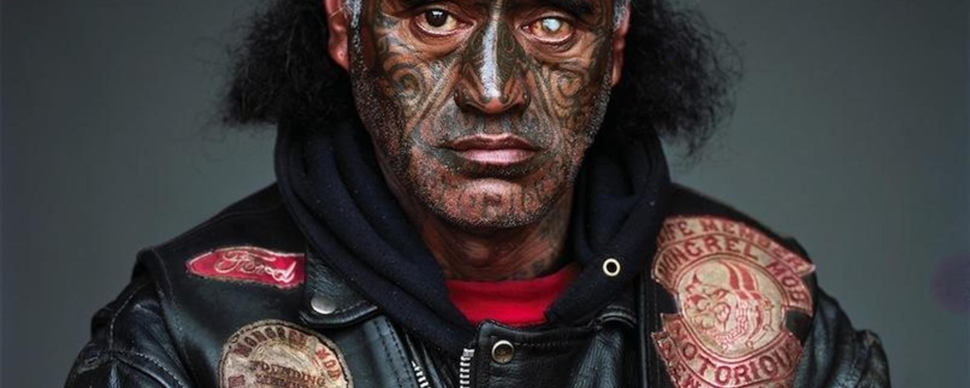Estas fotos do maior gangue da Nova Zelândia vão assustar-te