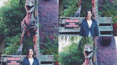 """He ido a ver """"Jurassic World"""" con una friqui"""