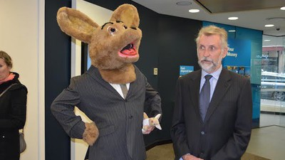 I Watched Giant Homeless Marsupials Ask ANZ Bank for a Home Loan