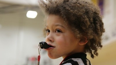 Meet Boo, the Adorable Five-Year-Old AAU Basketball Ref