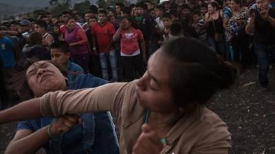 Una gota de sangre por una gota de lluvia: hostiazos en La Esperanza