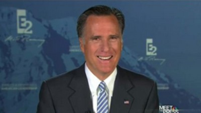 Mitt Romney Responds to Our Call for His FIFA Presidency
