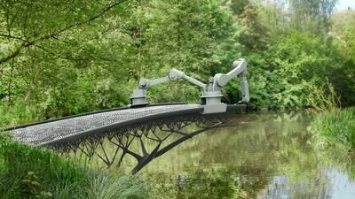 Deze startup gaat 's werelds eerste 3D-geprinte brug in Amsterdam maken