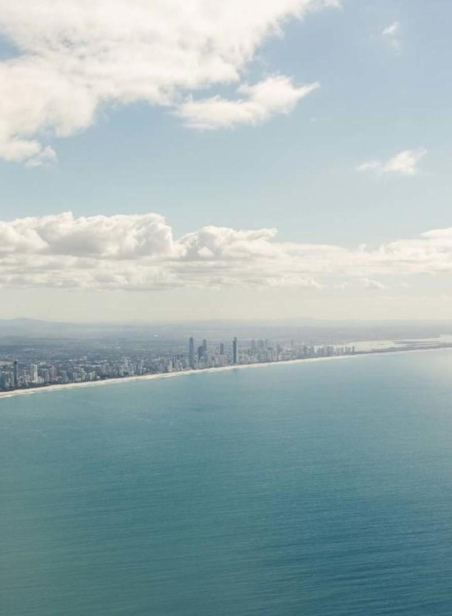 Fotos de Paraísos Turísticos Artificiais na Austrália e Dubai