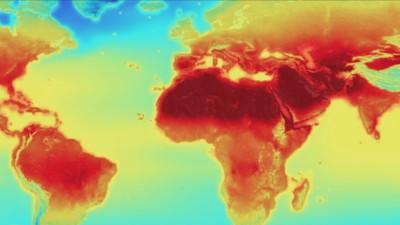Eine detaillierte NASA-Simulation zeigt, wie heiß die Welt im Jahr 2100 sein wird