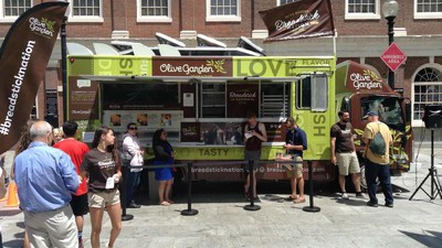 Olive Garden Has a Food Truck and Bostonians Are Pissed About It