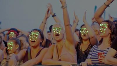 Die Polizei hat das Gesicht von jedem einzelnen Besucher des Download Festivals gescannt