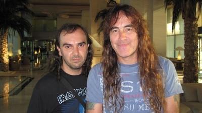 Este Cara Já Viu o Iron Maiden 230 Vezes
