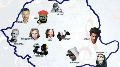 Orașe din România care ar fi perfecte ca titluri de albume de muzică electronică