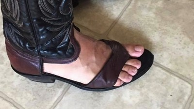 'Redneck Sandals' Are the Bastard Children of Flip-Flops and Cowboy Boots