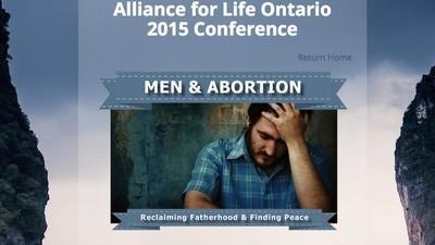 Fui a una extraña conferencia sobre cómo afecta el aborto a los hombres
