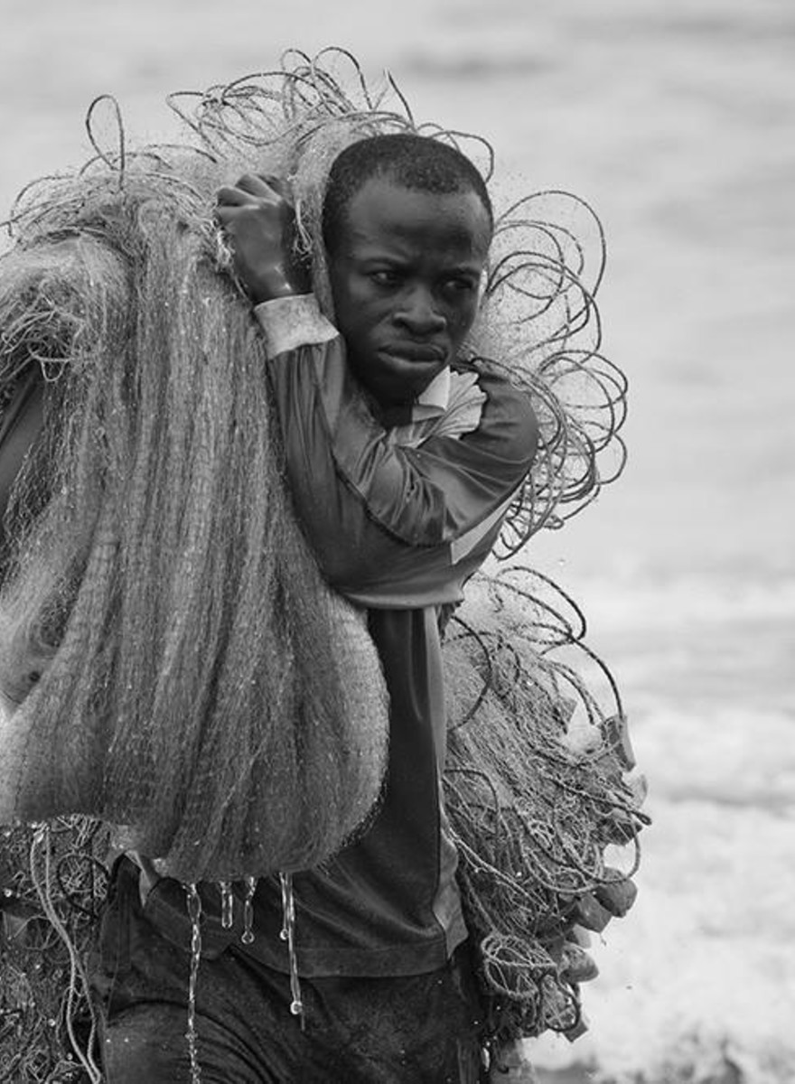 The Majestic Fishermen of Ghana