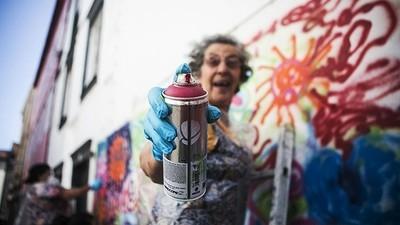 A nova geração de graffiters portugueses está na idade da reforma