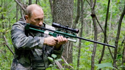 Putin Built a New Amusement Park Where Kids Can Play with Grenade Launchers and Tanks