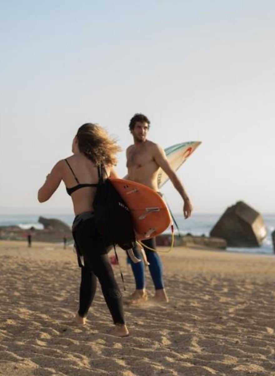 Un secreto entre surfistas