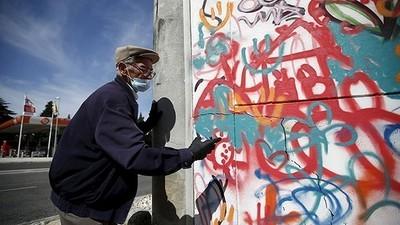 Los viejitos grafiteros de Portugal