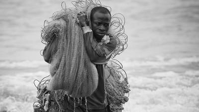 Los majestuosos pescadores de Ghana