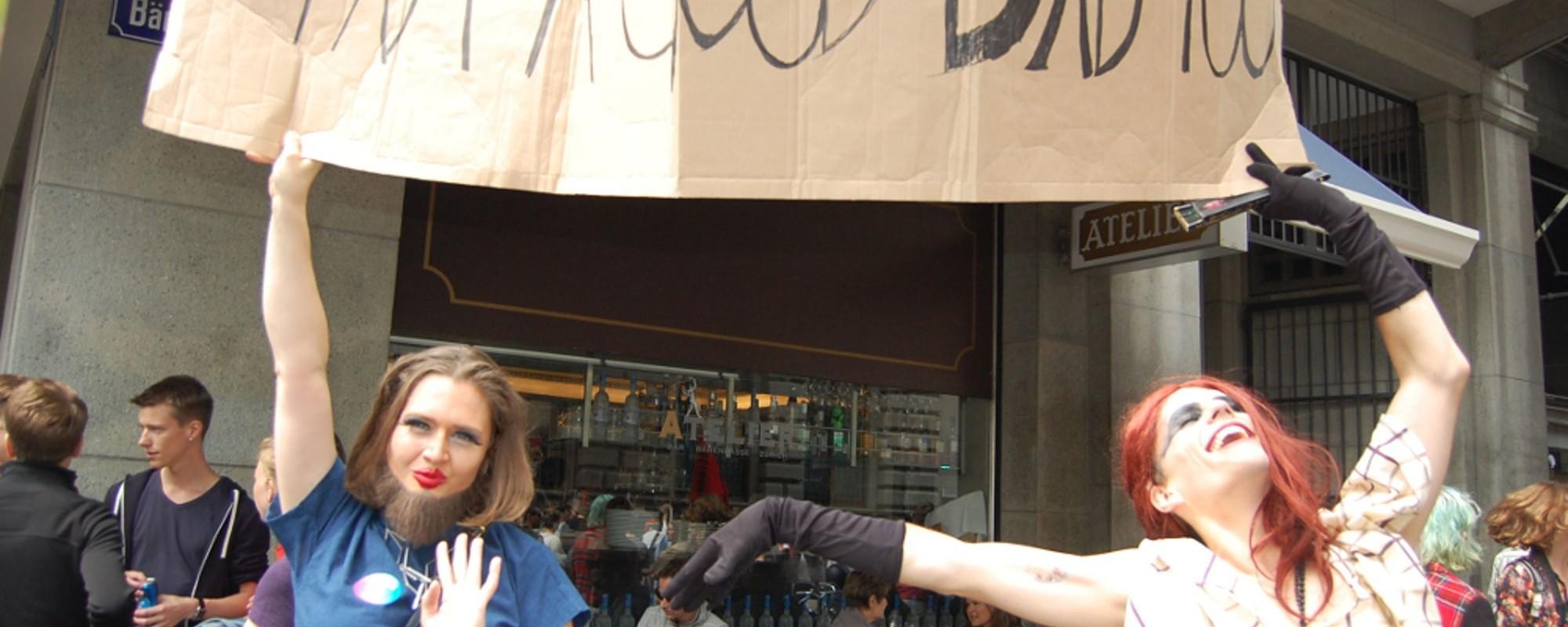 """Auch als """"Halb-Hete"""" hat mich die Zürich Pride dieses Jahr wieder glücklich gemacht"""
