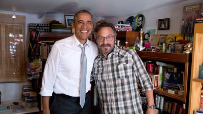 Listen to Marc Maron Interview President Obama on His 'WTF' Podcast